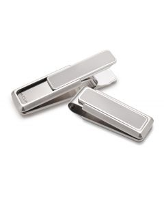 Brushed Stainless Steel Money Clip