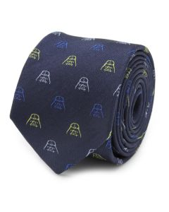 Darth Vader Mask Silk Boy's Tie