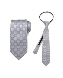 Father and Son Grey Darth Vader Necktie Gift Set