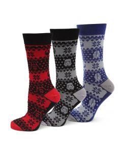 Star Wars Holiday Socks 3 Pack