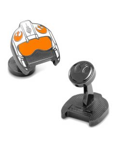 Fighter Pilot Helmet Cufflinks
