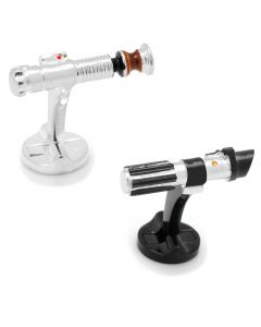 Luke Skywalker vs. Darth Vader Lightsaber Battle Cufflinks