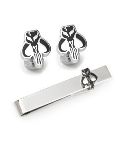 The Mandalorian Cufflinks and Tie Bar Gift Set