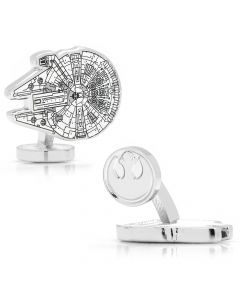 Millennium Falcon Blueprint Cufflinks