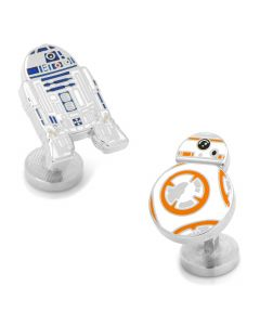 R2D2 and BB8 Enamel Cufflinks