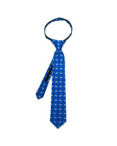 R2D2 Blue Boys' Zipper Tie