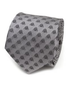 Darth Vader Metallic Black Men's Tie