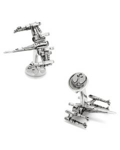 New 3D X-Wing Cufflinks