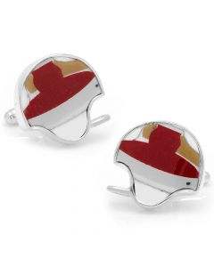 Stanford Game Used Helmet Cufflinks