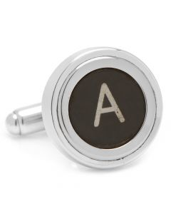"Typewriter ""A"" Key Cufflinks"