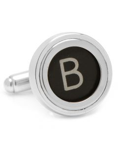 "Typewriter ""B"" Key Cufflinks"