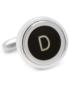 "Typewriter ""D"" Key Cufflinks"