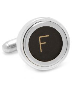 "Typewriter ""F"" Key Cufflinks"