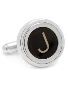 "Typewriter ""J"" Key Cufflinks"