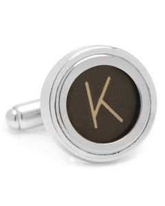 "Typewriter ""K"" Key Cufflinks"