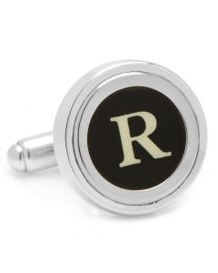 "Typewriter ""R"" Key Cufflinks"