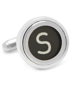"Typewriter ""S"" Key Cufflinks"