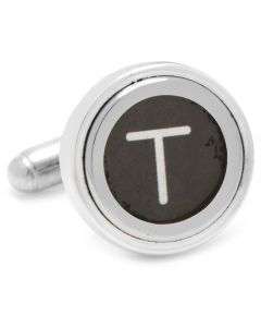 "Typewriter ""T"" Key Cufflinks"