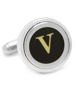"Typewriter ""V"" Key Cufflinks"