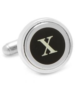 "Typewriter ""X"" Key Cufflinks"