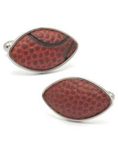 Notre Dame Game Used Football Cufflinks