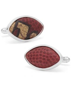 Ohio State University Game Used Football Cufflinks