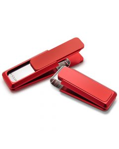 Ultralight Red Solid Money Clip
