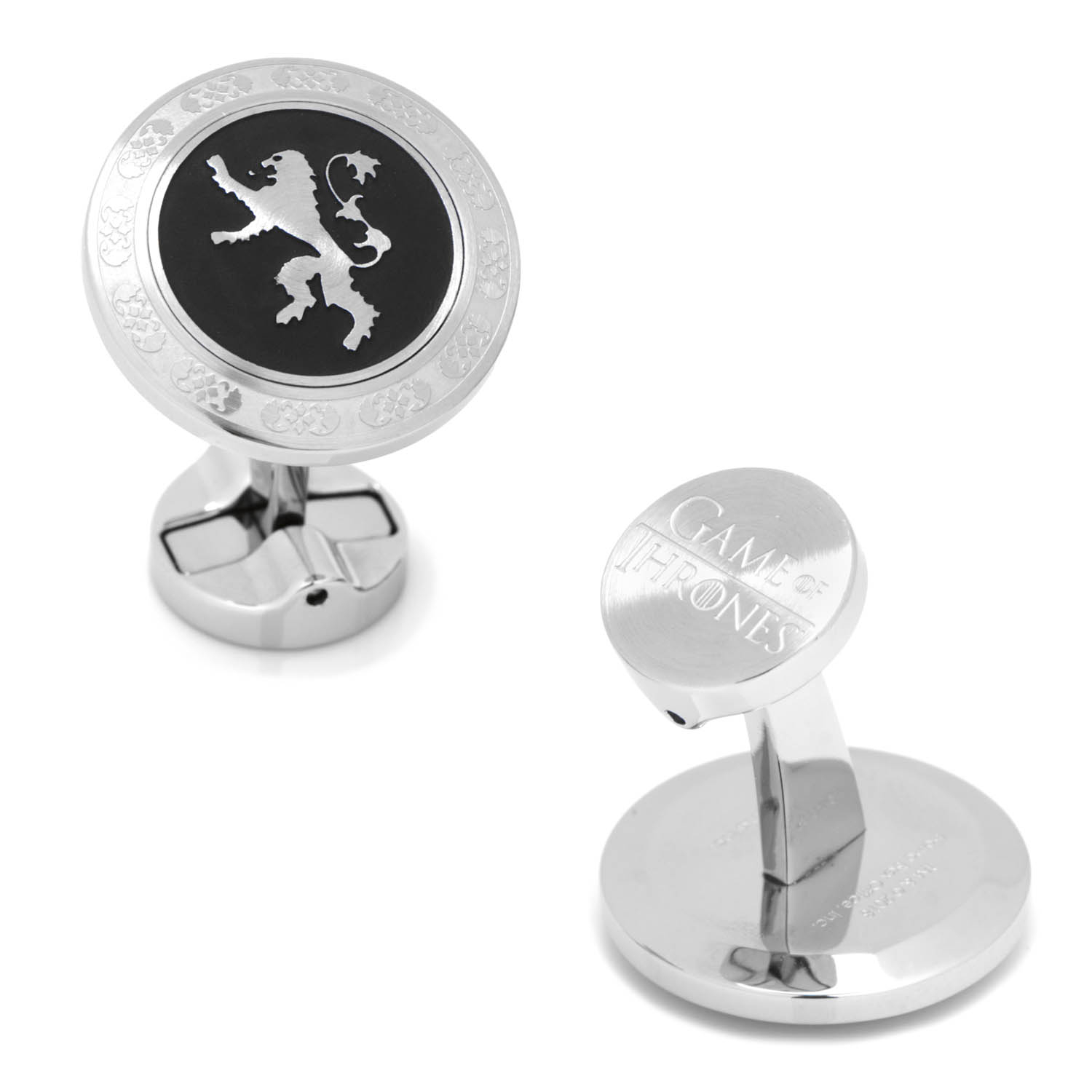 Stainless Steel Lannister Cufflinks