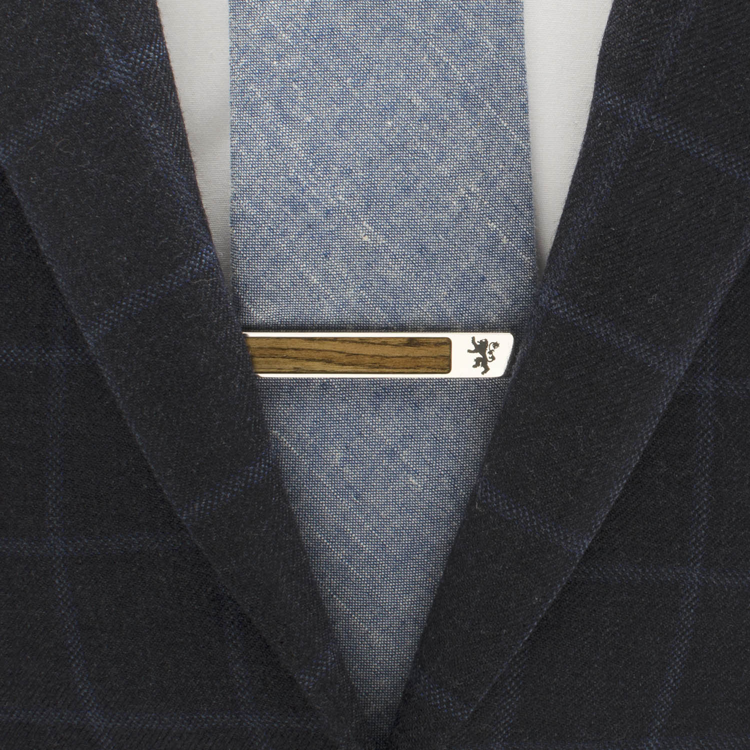 Wood Inlaid Game of Thrones Tie Bar