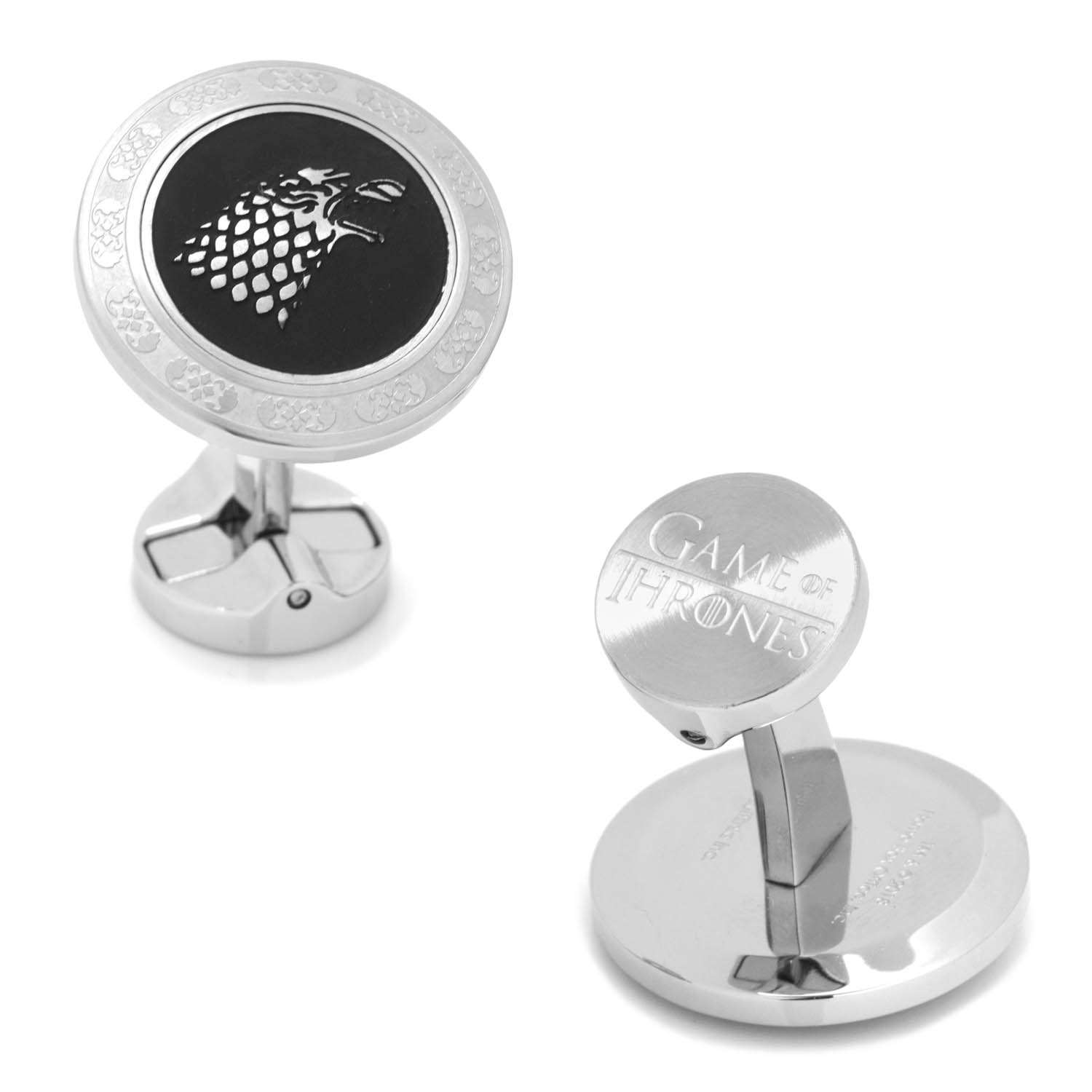 Stainless Steel Stark Cufflinks