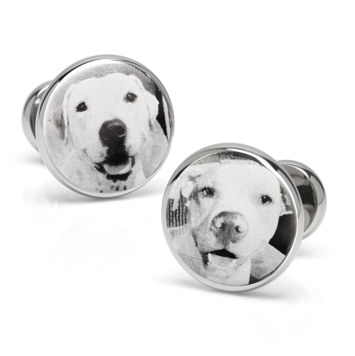 Photo Engraved Cufflinks