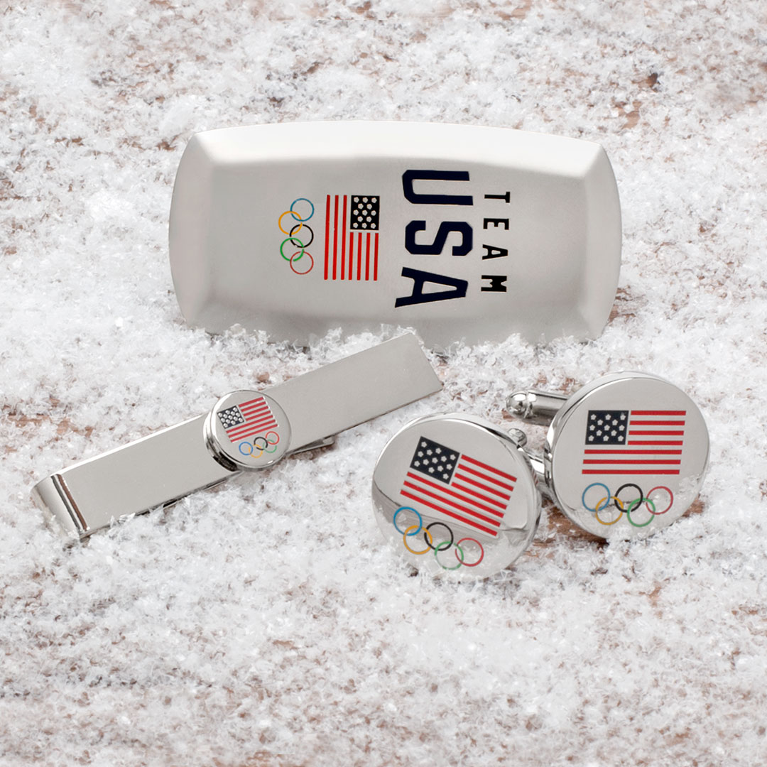 Team USA Cufflinks, Team USA Tie Bar