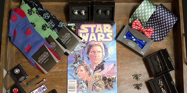 Star Wars Item Assortment w/ Comic