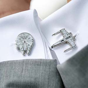 Star Wars Wedding Cufflinks
