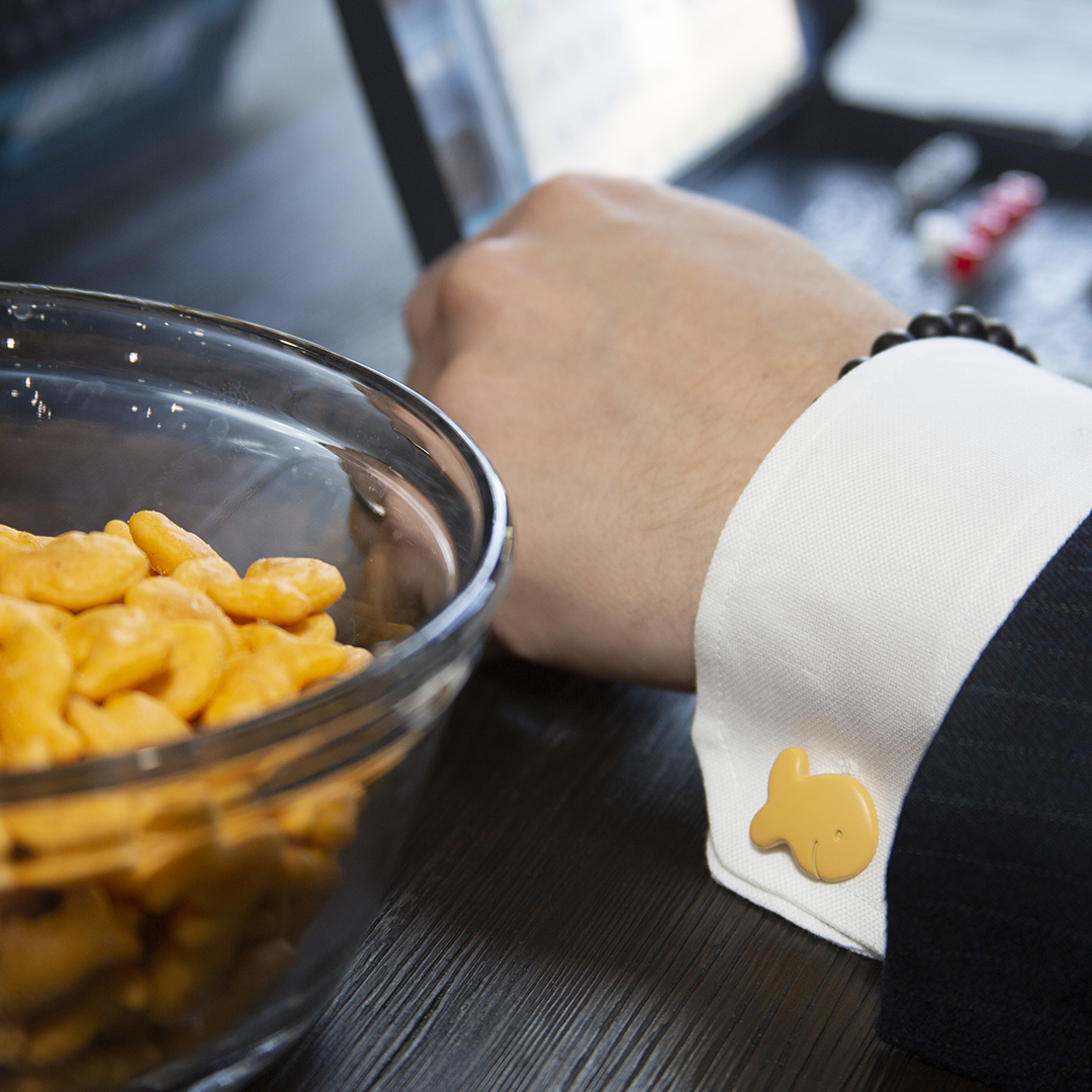 Goldfish Cufflinks