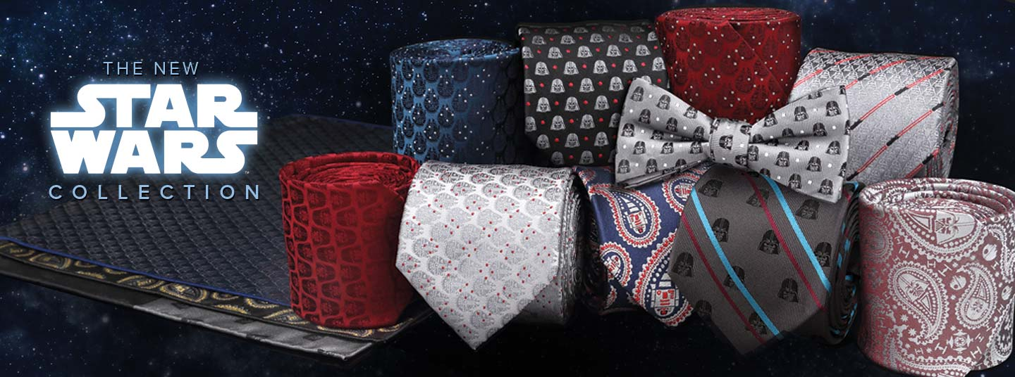 New Star Wars Ties and Pocket Squares