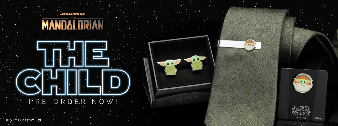 Get your The Child - Baby Yoda Cufflinks and Accessories