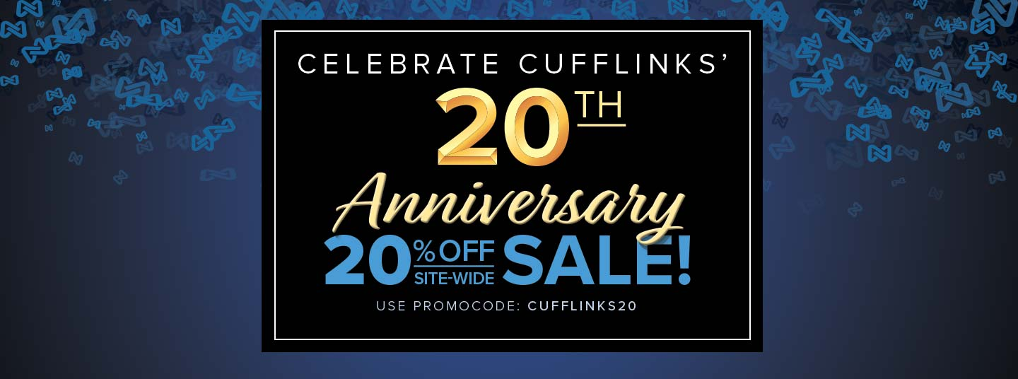 Save 20% site-wide to celebrate our 20th year of business.