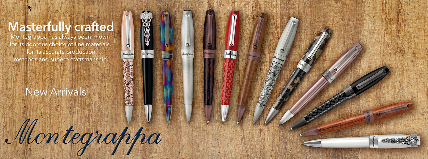 Montegrappa - New Pen Styles Added