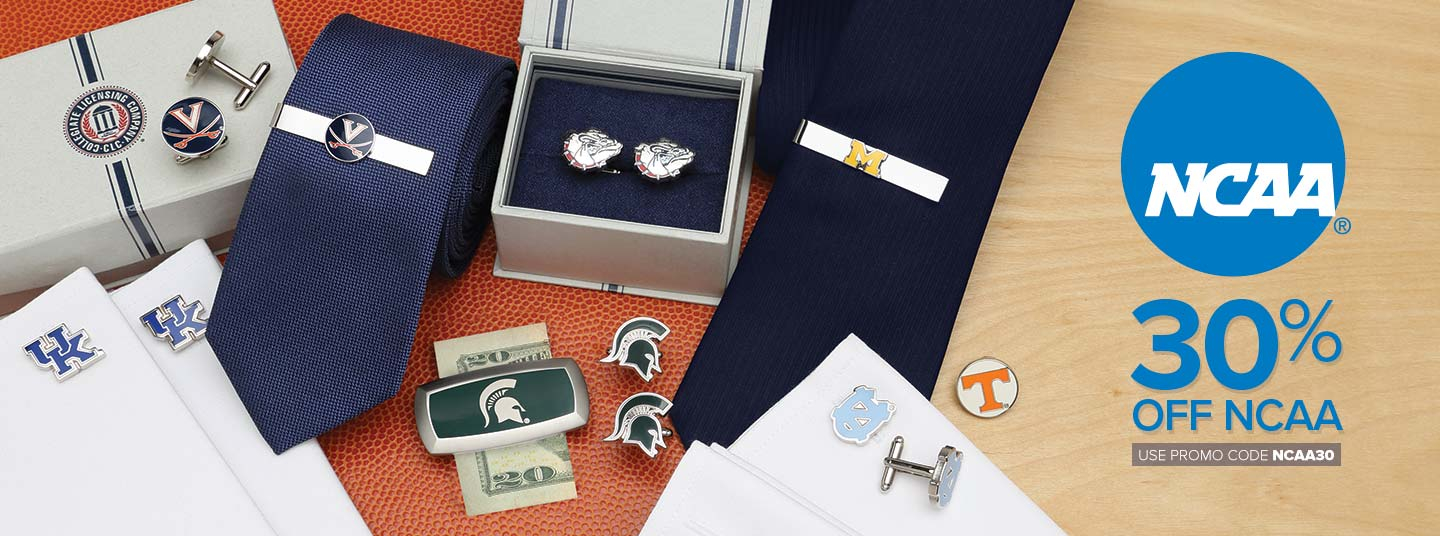 30% off NCAA accessories for March Madness