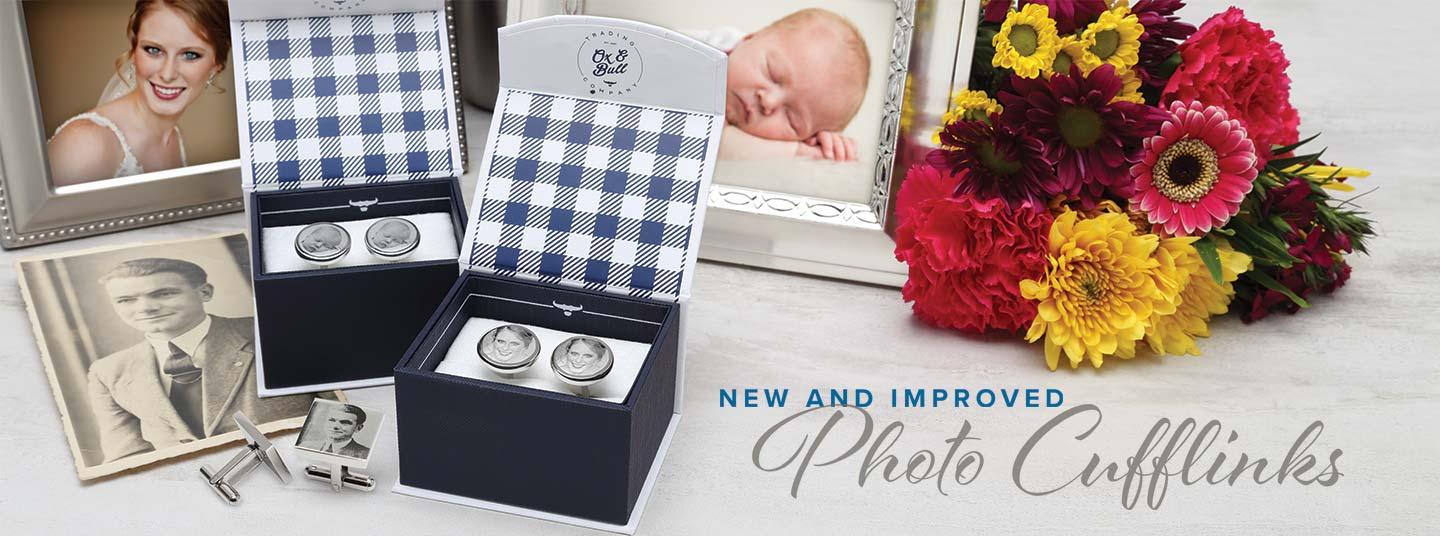 New and Improved Photo Cufflinks